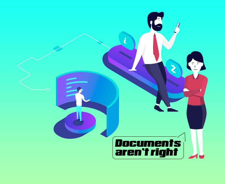 documents - not right